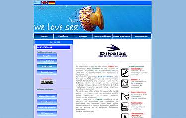 dikelas dive center